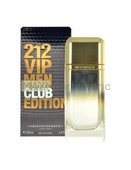 Carolina Herrera 212 VIP Men Club Edition, Toaletná voda 100ml - tester