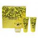 Versace Yellow Diamond, Edt 50ml + 50ml tělové mléko + 50ml sprchový gel