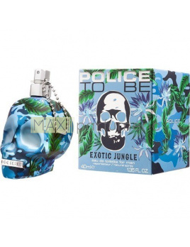 Police To Be Exotic Jungle, Toaletná voda 40ml