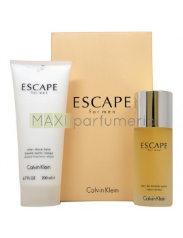 Calvin Klein Escape SET: Toaletná voda 100ml + Balzám po holení 200ml