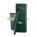 Swiss Smile Vitalizing Herbal Toothpaste Kit, 75ml Vitalizing Herbal Toothpaste + 1pc Sensitive-Soft Toothbrush Green