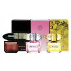 Versace Mini Set, Edt 5ml Yellow Diamond + Edt 5ml Bright Crystal + Edt 5ml Crystal Noir