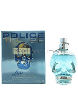 Police To Be light, Toaletná voda 40ml