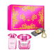 Versace Bright Crystal Absolu, Edp 90ml + 100ml tělové mléko + privesok na kluce