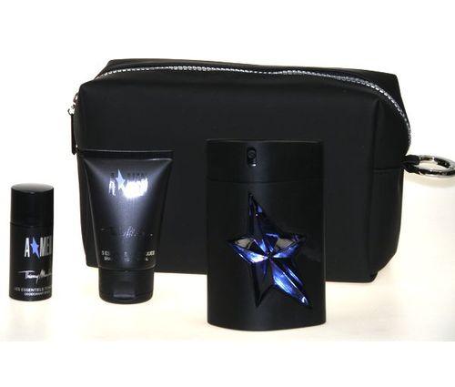 Thierry Mugler Amen, Edt 100ml + 50ml sprchový šampon + 20ml deostick + kosmetická taška, Toaletná voda